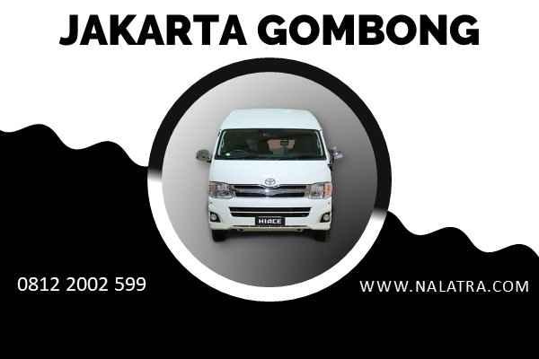 TRAVEL DOOR TO DOOR JAKARTA GOMBONG
