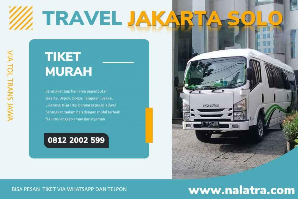 travel jakarta solo tiket murah berangkat tiap hari
