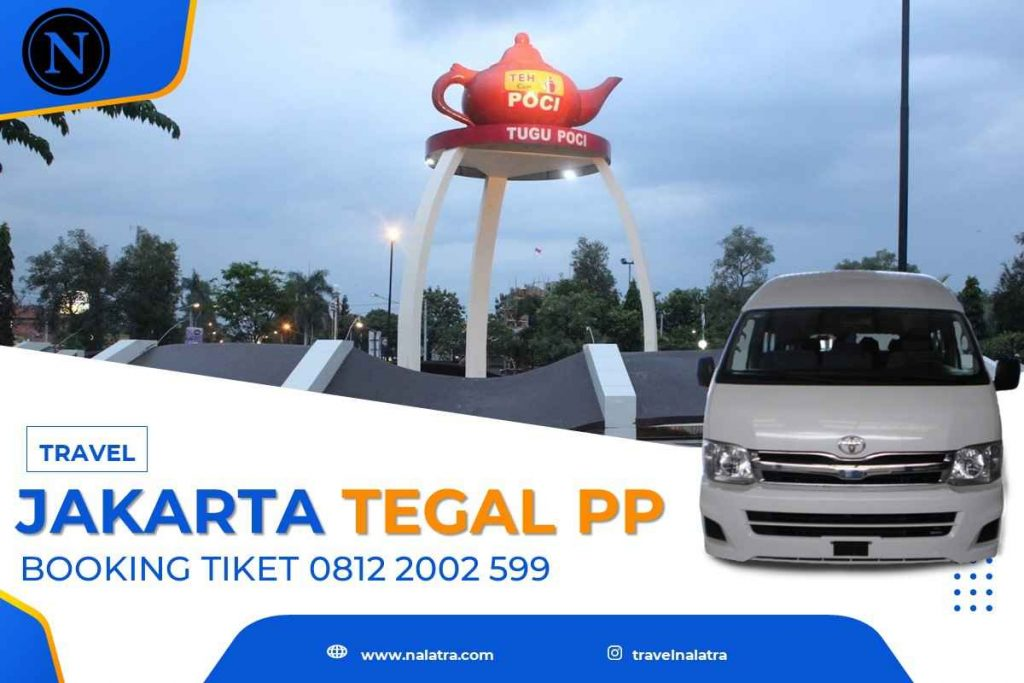 travel jakarta tegal pp tiket murah